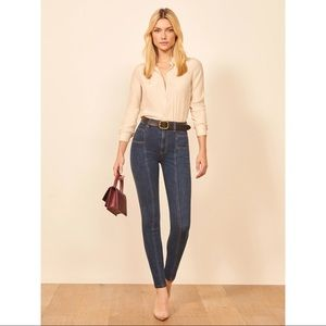 Reformation Misa High and Skinny Jeans NWOT